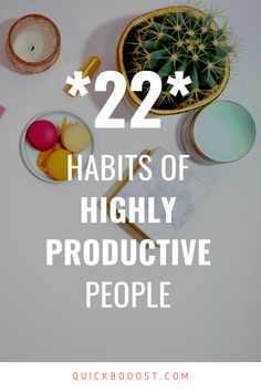 Want to know how to be productive? Follow these 22 productivity habits, tips, and hacks of productive people. #howtobeproductive #productivity #productive Productive Things To Do, Things To Do At Home, Things To Do When Bored, Productive Day, Getting Things Done, Time Management Activities, Time Management Printable, Time Management Quotes, Time Management Skills