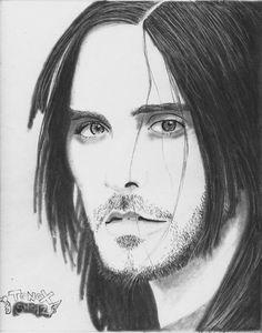 """""""Jared Leto"""" pencil draw"""
