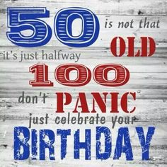 50 jaar. 50th Birthday Wishes Funny, Happy Birthday Wishes Cards, Happy 50th Birthday, Happy Birthday Quotes, It's Your Birthday, Funny Greetings, Funny Greeting Cards, Funny Cards, Cute Love Images
