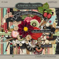 Childhood Memories | Kit :: Full & Mini Kits :: Memory Scraps