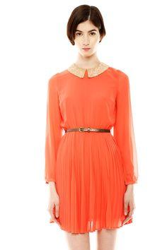 Flying Tomato Peter Pan Mini Dress.  I <3 the collar