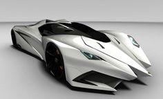 Lamborghini Ferruccio. So pointy. #car #white #cool