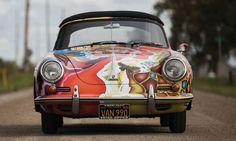 Janis Joplin's 1968 Porsche 356 SC Cabriolet