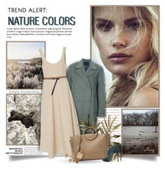 """Nature Colors"" by thewondersoffashion ❤ liked on Polyvore featuring Alexander Wang, TIBI, Michael Kors, Casadei, Paule Ka, Bold Elements, michaelkors, AlexanderWang, tibi and kohls"