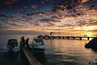 Sunset - Denham in Shark Bay, Western Australia