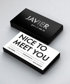 Simple Black and White Card #ZooSeo