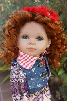 "HARMONY CLUB DOLLS. Premium wigged 18"" dolls the size of American Girl. Dolls and doll fashions. Visit our store at www.harmonyclubdolls.com"