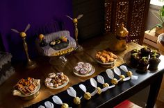 Harry Potter themed sweet table