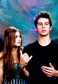 Holland is there just dancing and Dylan is being serious