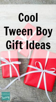 Our list of fun tween boy gift ideas includes some really cool things that would make great surprise gifts for those hard-to-shop-for tweens.