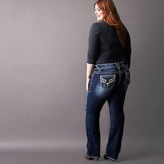 vigoss ® plus size feather stitch capri   vegas   pinterest   jean