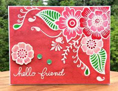 Floral Friendship Card | by Sheena Joy Neptune