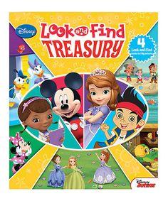 Another great find on #zulily! Disney Junior Look & Find Treasury Hardcover #zulilyfinds