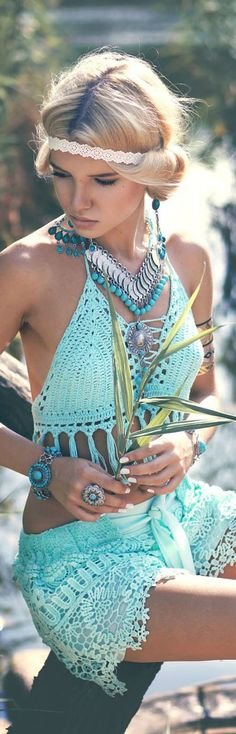 Boho forever - The latest in Bohemian Fashion! These literally go viral!