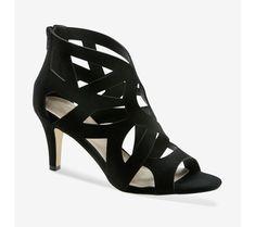 Sandále na podpätku Peeps, Peep Toe, Wedges, Spring, Collection, Shoes, Style, Fashion, Snake Print