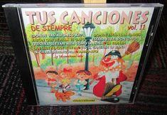 TUS CANCIONES: DE SIEMPRE VOLUME 11 MUSIC CD, 24 KIDS MUSIC TRACKS, GUC