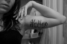 New tat! by Bry Morrow, via Flickr (herbivore, tattoo, vegan, vegetarian)