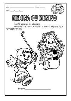 Alfabetizando com Mônica e Turma: identidade