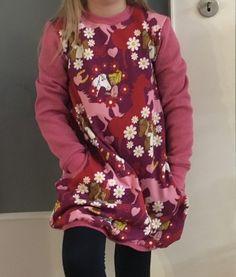 Eine Ballonkleid ist ein Garant, wenn es darum geht, ein kleines M�dchen, schick einzukleiden und gl�cklich zu machen. Hier hat Monika unseren tollen Bibi