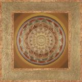 Autumn Gold Mandala