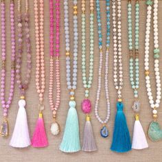 Love's Affect Spring Necklaces!