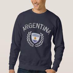 Argentina Vintage Sweatshirt - retro clothing outfits vintage style custom