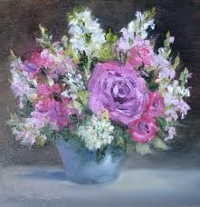 Oil Painting – Flower Vase - Пошук Google