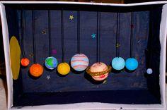 Tittskåp – rymden | Emma Solar System Projects, Construction For Kids, Kids Learning, Teacher, Education, School, Crafts, Science Fair, Infants