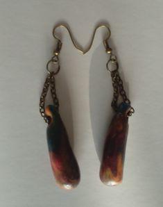"""Ohrringe """"mazas"""" Ohrschmuck Drop Earrings, Gifts, Jewelry, Fashion, Earrings, Stud Earrings, Blue Green, Ear Jewelry, Stud Earring"""