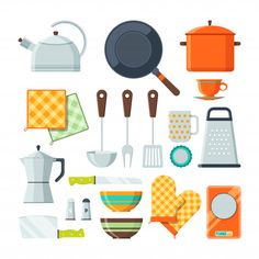 Kitchen Tools For Cooking Cartoon images ideas from Kitchen Decoration Ideas Silicone Kitchen Utensils, Cooking Utensils Set, Kitchen Utensil Set, Kitchen Tools List, Essential Kitchen Tools, Cartoon Paper, Cartoon Clip, Cartoon Images, Kitchen Cartoon