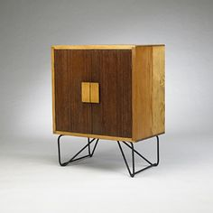 Luther Conover, Pine and Iron Cabinet,, Vintage Furniture, Diy Furniture, Modern Furniture, Furniture Design, Mid Century Decor, Mid Century Design, Mid-century Modern, Modern Design, Furniture Styles