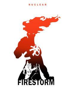 Steve Garcia's Firestorm Silhouette Art on deviantART