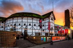 No Time for Cameras / Shakespeare's Globe Theatre, Southbank, London,. British Library, Globe Theater, La Fugue, New York Architecture, London Theatre, Things To Do In London, London Travel, Architectural Digest, Virtual Tour