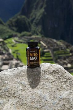The fuel that helped many through the trip and to the top of this mountain! — at Machupicchu, Cuzco, Perú.  Bring MITO2MAX with you on your next hike, camping trip, or Disneyland adventure!