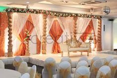 open-peacock-mandap ceremony,Floral,&,Decor,indian,wedding,traditions,mandap,Matei,Horvath,Photography,traditional,indian,wedding #omcreatives