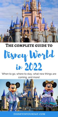 Planning a Disney World vacation in 2022: everything you need to know - Disney in your Day