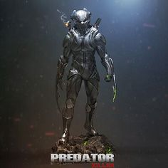 fanart version of the predator killer armor Predator Hunting, Predator Movie, Alien Vs Predator, Apex Predator, Predator Cosplay, Predator Costume, Alien Concept Art, Armor Concept, Badass Drawings