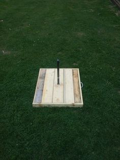 My portable horse shoe pits