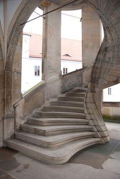Hartenfels Castle, Torgau, Germany.