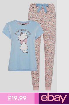 Disney Stitch grigio donna stampati pigiama Pantaloncini Nightwear Donna Primark