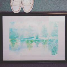 Watercolor paint .#arts #painting #etsyshop #etsy #whatercolors