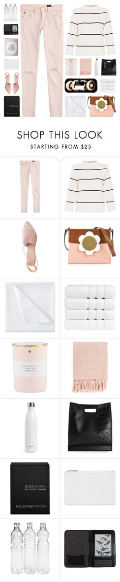 """""""Happy Birthday @is-msc & @ningaunis! 🎂"""" by paradiselemonade ❤ liked on Polyvore featuring AG Adriano Goldschmied, L.K.Bennett, Summit, Orla Kiely, Liz Claiborne, Christy, Kate Spade, Surya, S'well and 3.1 Phillip Lim"""