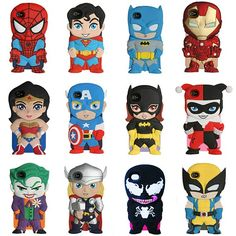 Super hero Iphone cases to the rescue