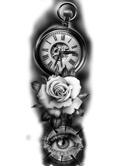 Forarm Tattoos, Cool Forearm Tattoos, Celtic Tattoos, Body Art Tattoos, Tattoo Symbols, Tattoo Ink, Clock Tattoo Design, Tattoo Design Drawings, Best Sleeve Tattoos