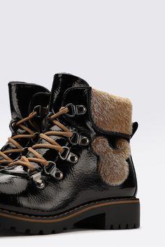 Trzewiki Mickey&Friends CS-AW2035DSTC Czarny - CCC.eu Mickey And Friends, Hiking Boots, Shoes, Fashion, Walking Boots, Moda, Zapatos, Shoes Outlet, Fashion Styles