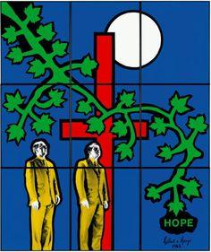 Via Harris Acrobat : Gilbert & George - Hope 1983 Amanda Harris, Gilbert & George, Design Museum, Natural Life, Life Drawing, Contemporary Art, Conformity, Comics, Figurative