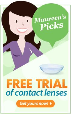 Free Sample of Contact Lenses    **If samples are gone today, check back tomorrow, they give away only a certain amount each day!**    http://womanfreebies.com/free-samples/contacts-free-trial/?pinterest_march30