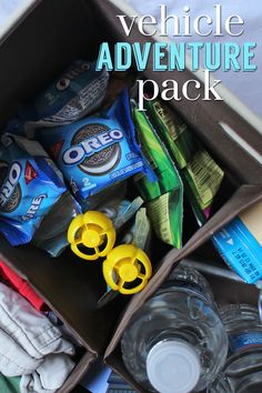 Stay prepared for any Summer adventure with a car organizer and Oreo two-packs!
