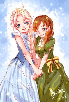 Frozen (Disney) - Elsa & Anna