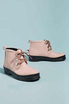 858aa4a50e5f Slide View  2  Ilse Jacobsen Lace-Up Short Rubber Boots Winter Shoes